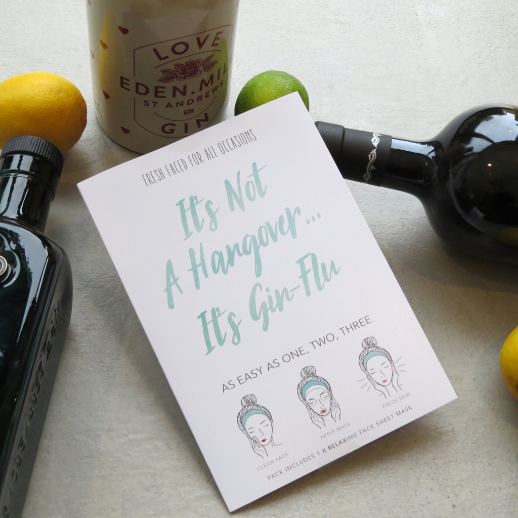 It's Not A Hangover... It's Gin Flu | Face Mask