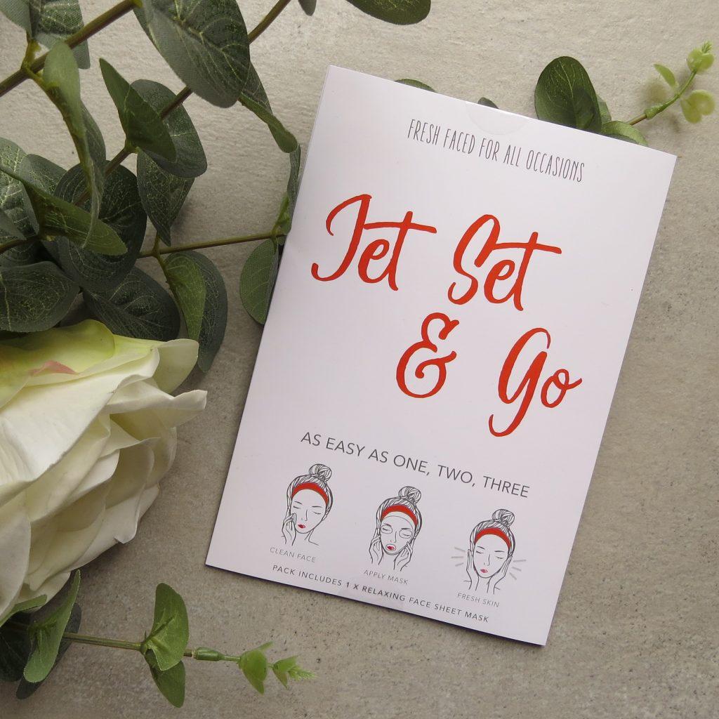 Jet Set & Go | Face Mask