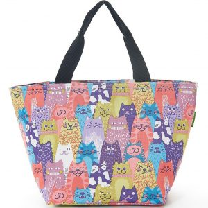 Multiple Cats Lunch Bag