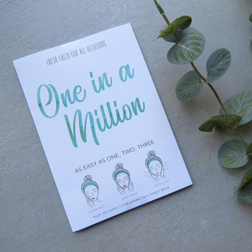 One In A Million | Face Mask