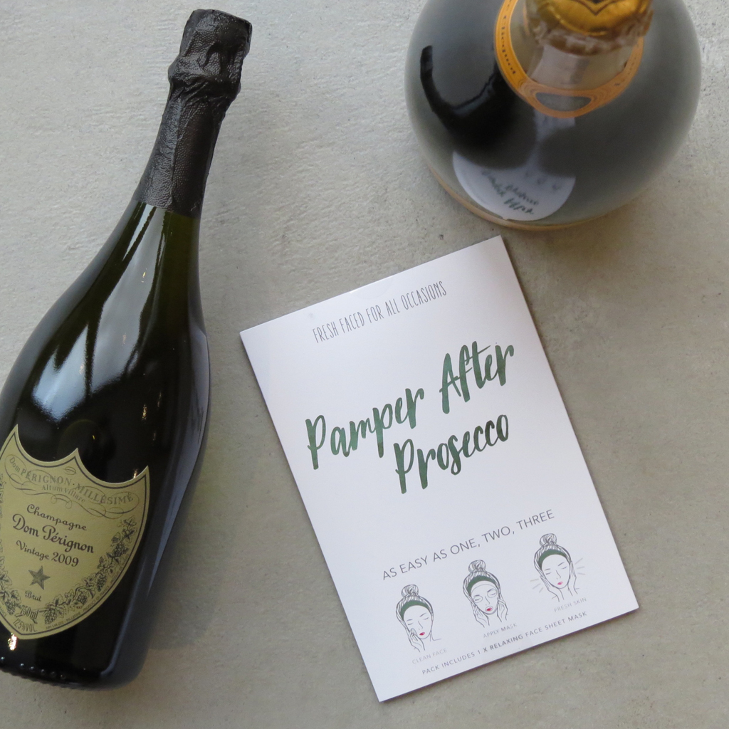 Pamper After Prosecco | Face Mask