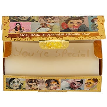Portraits | Organic Tubular Soap