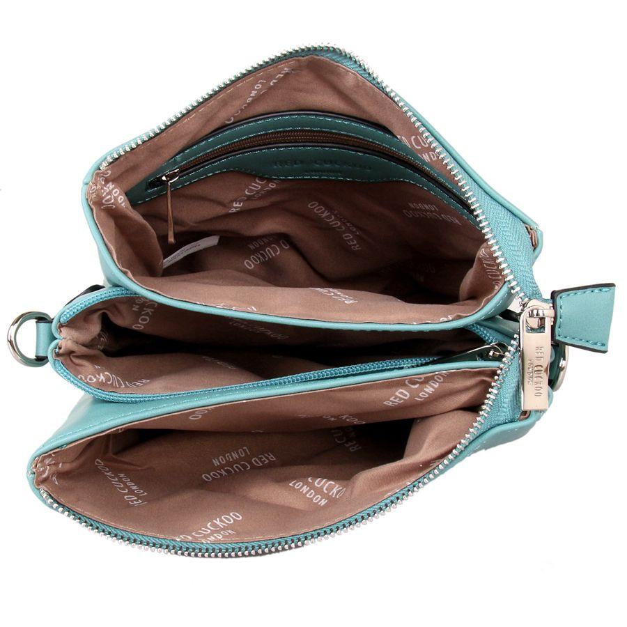 Teal | Tall Cross Body Bag