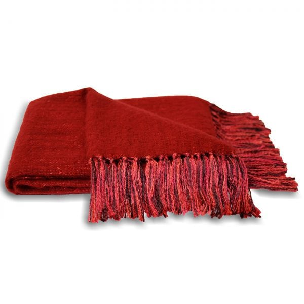 Chiltern Red Throw