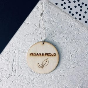 Vegan & Proud | Decoration