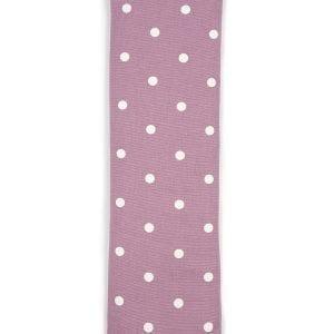 Mauve Dotty | Lavender Cotton Wheat Bag