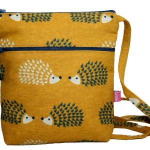Mustard Hedgehogs | Cross Body Pouch Purse