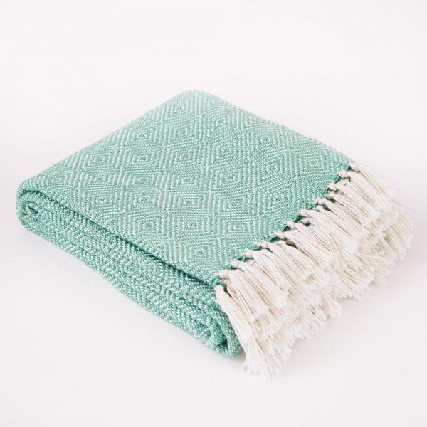 Diamond | Aqua Blanket