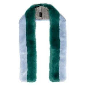 Powder Blue & Sea Green Hera Scarf