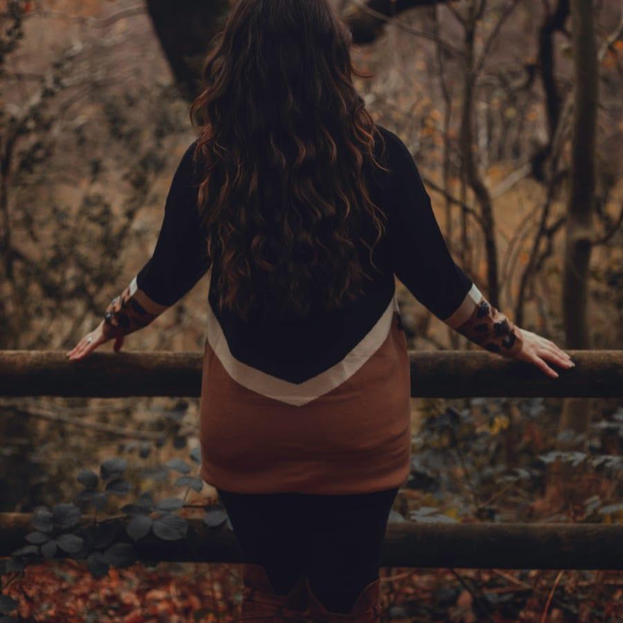 Autumnal Sequin Top 2