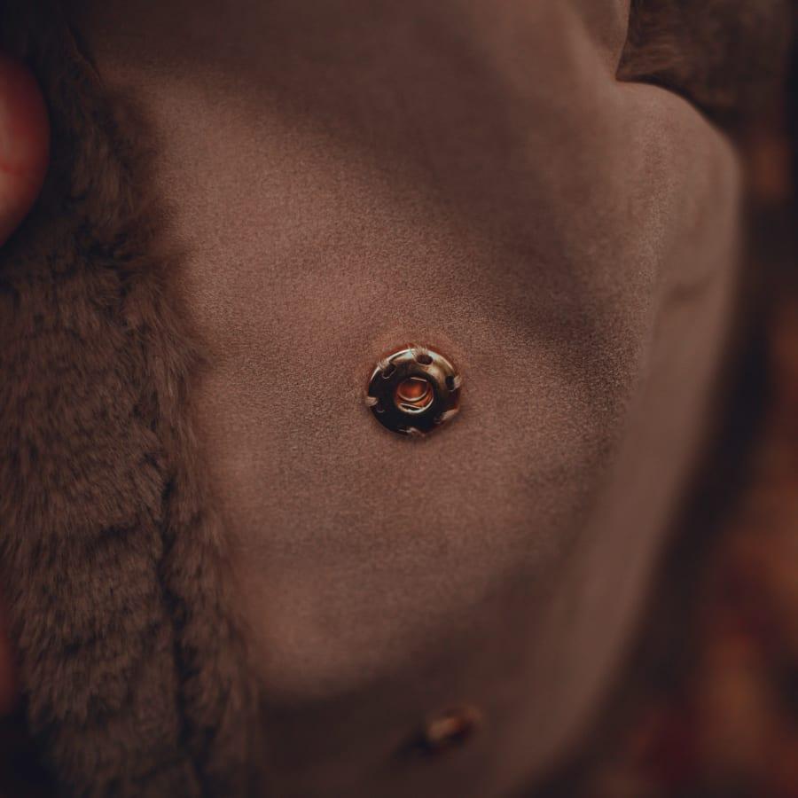 Brown Fluffy Winter Coat 4
