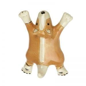 Ceramic Dog Hook