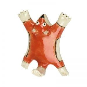 Ceramic Fox Hook