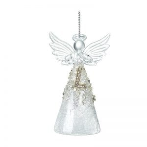 Glass Angel With Letter L