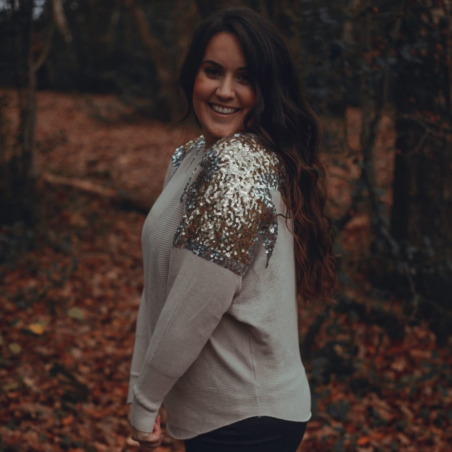 Sequin Shoulder Top 4