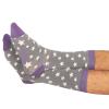 Grey Stars Socks