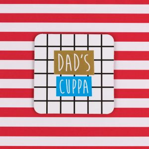 Dads Cuppa Coaster