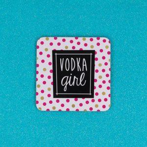 Vodka Girl Coaster