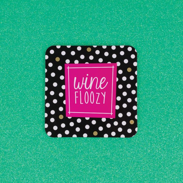 Wine Floozy Coaster