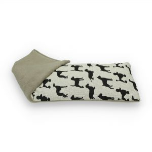 Black Dogs | Unscented Wheat Bag