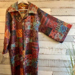 Multi Coloured Patchwork Coat