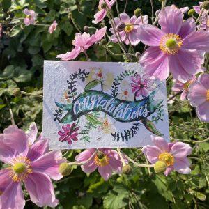 Congratulations Plantable Card