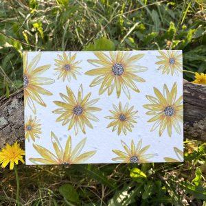 Sunflowers Plantable Card
