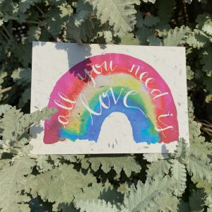 All You Need Is Love Plantable Card