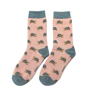 Pink Turtle Socks