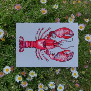Will You Be My Lobster Plantable Card