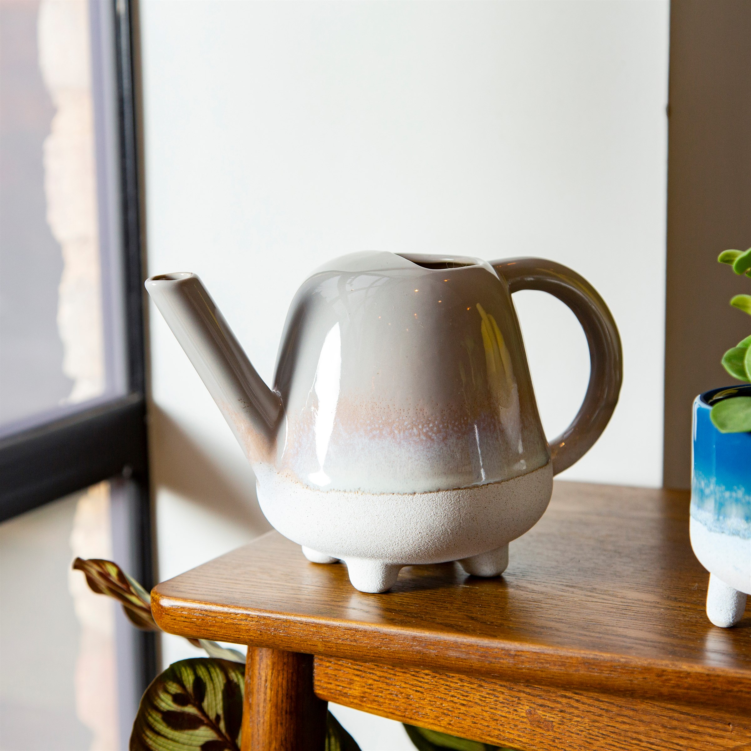 Mojave Glaze Grey Mini Watering Can